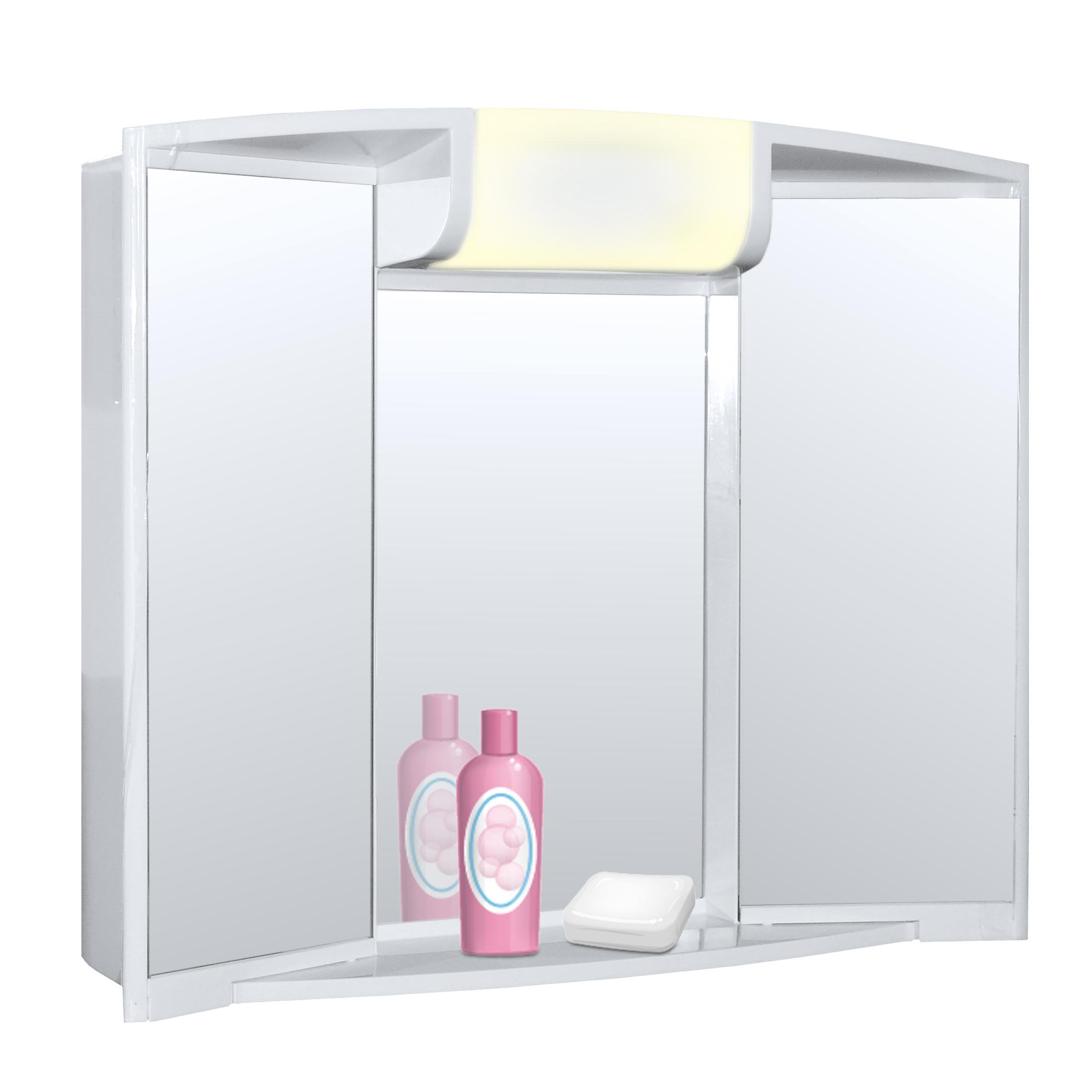 spiegelschrank angy f r ihr modernes badezimmer t ren zum ffnen ebay. Black Bedroom Furniture Sets. Home Design Ideas